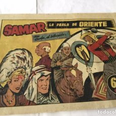 Tebeos: CARLOS, EL INTRÉPIDO - SAMAR, LA PERLA DE ORIENTE. Lote 177716390