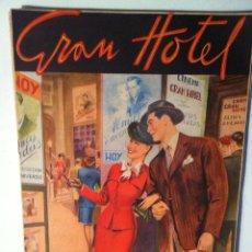 Tebeos: GRAN HOTEL .Nº. 1 -AÑO 1947. Lote 177716880