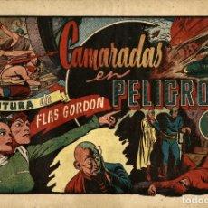 Tebeos: FLAS GORDON-3: CAMARADAS EN PELIGRO (HISPANO AMERICANA, 1946). Lote 177734417