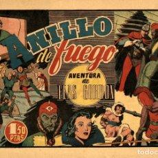Tebeos: FLAS GORDON-2: EL ANILLO DE FUEGO (HISPANO AMERICANA, 1946). Lote 177734534