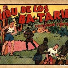 Tebeos: JUAN CENTELLA-52: LA TRIBU DE LOS BA-TARIEN (HISPANO AMERICANA, 1940). Lote 177735760