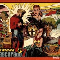 Livros de Banda Desenhada: EL HOMBRE ENMASCARADO ALBUM ROJO-7 (HISPANO AMERICANA, 1944). Lote 177752558