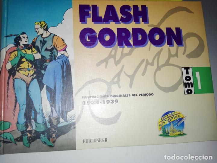 Tebeos: COLECCIÓN-COMICS-FLASH GORDON-9 TOMOS-EXCELENTE ESTADO-RARA+DIFÍCIL C.-EDICIONES B-1992-VER FOTOS - Foto 5 - 177755059