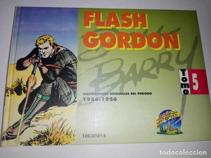 Tebeos: COLECCIÓN-COMICS-FLASH GORDON-9 TOMOS-EXCELENTE ESTADO-RARA+DIFÍCIL C.-EDICIONES B-1992-VER FOTOS - Foto 8 - 177755059