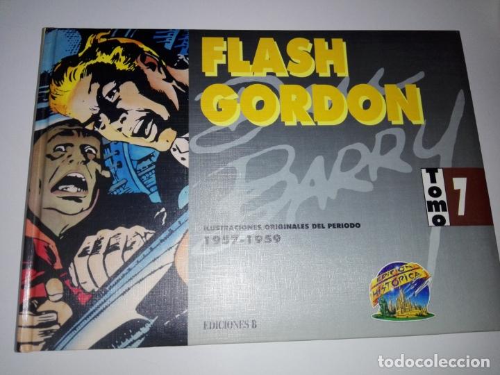 Tebeos: COLECCIÓN-COMICS-FLASH GORDON-9 TOMOS-EXCELENTE ESTADO-RARA+DIFÍCIL C.-EDICIONES B-1992-VER FOTOS - Foto 10 - 177755059