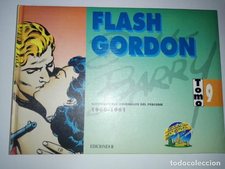 Tebeos: COLECCIÓN-COMICS-FLASH GORDON-9 TOMOS-EXCELENTE ESTADO-RARA+DIFÍCIL C.-EDICIONES B-1992-VER FOTOS - Foto 12 - 177755059