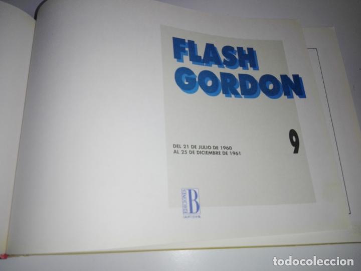 Tebeos: COLECCIÓN-COMICS-FLASH GORDON-9 TOMOS-EXCELENTE ESTADO-RARA+DIFÍCIL C.-EDICIONES B-1992-VER FOTOS - Foto 14 - 177755059