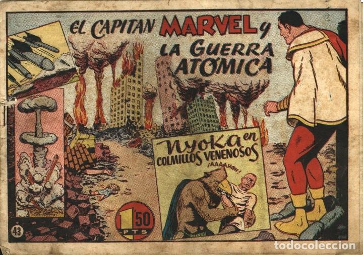 EL CAPITÁN MARVEL-43: LA GUERRA ATÓMICA (HISPANO AMERICANA, 1947) (Tebeos y Comics - Hispano Americana - Capitán Marvel)