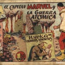 Tebeos: EL CAPITÁN MARVEL-43: LA GUERRA ATÓMICA (HISPANO AMERICANA, 1947). Lote 177763870
