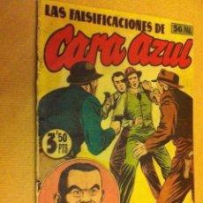 Tebeos: AGENTE SECRETO X (LAS FALSIFICACIONES DE CARA AZUL) - LOMO REPARADO. Lote 177795147