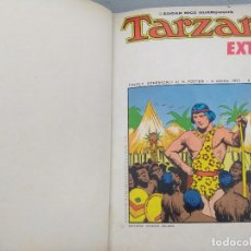 Tebeos: TARZAN EXTRA/EDGAR RICE BURROUGHS/ENCUADERNADO DE LOS 11 PRIMEROS NUMEROS EN ITALIANO.. Lote 177803260