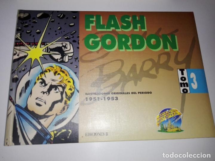 Tebeos: COLECCIÓN-COMICS-FLASH GORDON-9 TOMOS-EXCELENTE ESTADO-RARA+DIFÍCIL C.-EDICIONES B-1992-VER FOTOS - Foto 23 - 177755059