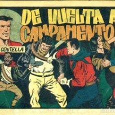 Tebeos: JUAN CENTELLA-103: DE VUELTA AL CAMPAMENTO (HISPANO AMERICANA, 1940). Lote 177850605