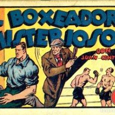 Tebeos: JUAN CENTELLA-45: EL BOXEADOR MISTERIOSO (HISPANO AMERICANA, 1940). Lote 177850643