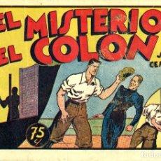 Tebeos: JUAN CENTELLA-43: EL MISTERIO DEL COLON (HISPANO AMERICANA, 1940). Lote 177850663