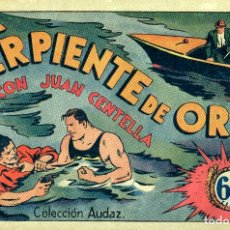 Tebeos: JUAN CENTELLA-30: LA SERPIENTE DE ORO (HISPANO AMERICANA, 1940). Lote 177850715