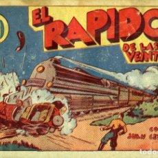 Tebeos: JUAN CENTELLA-26: EL RÁPIDO DE LAS VEINTIDOS (HISPANO AMERICANA, 1940). Lote 177850775