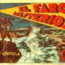 Tebeos: JUAN CENTELLA-25: EL FARO MISTERIOSO (HISPANO AMERICANA, 1940). Lote 177850813