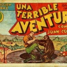 Tebeos: JUAN CENTELLA-24: UNA TERRIBLE AVENTURA (HISPANO AMERICANA, 1940). Lote 177850872
