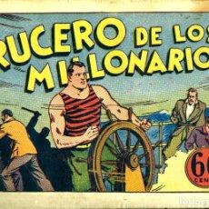 Tebeos: JUAN CENTELLA-19: EL CRUCERO DE LOS MILLONARIOS (HISPANO AMERICANA, 1940). Lote 177850890