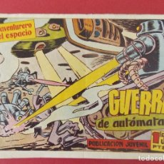 Tebeos: EL AVENTURERO DEL ESPACIO Nº 8, 1958 - HISPANO AMERICANA, BARCELONA - ORIGINAL ...L385. Lote 178024022