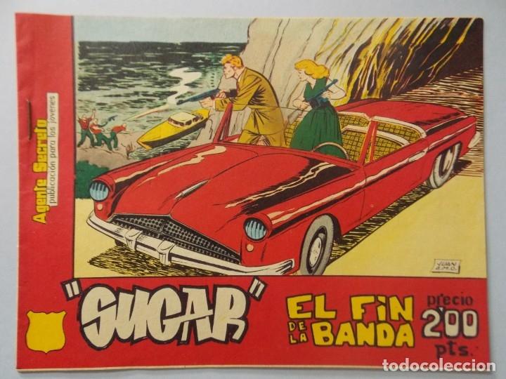 COMIC - SUGAR , AGENTE SECRETO - Nº 10 , EL FIN DE LA BANDA - AÑO 1964 - ORIGINAL .. L390 (Tebeos y Comics - Hispano Americana - Otros)