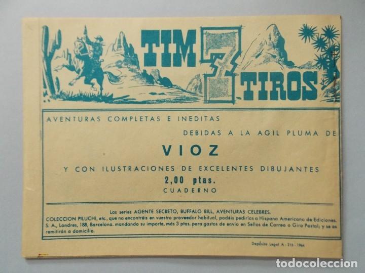 Tebeos: COMIC - SUGAR , AGENTE SECRETO - Nº 10 , EL FIN DE LA BANDA - AÑO 1964 - ORIGINAL .. L390 - Foto 4 - 178329346