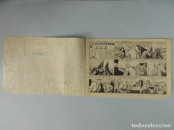 Tebeos: COMIC - SUGAR , AGENTE SECRETO - Nº 44 , SE DESINTEGRA EL K.K.K. - AÑO 1959 - ORIGINAL .. L391 - Foto 2 - 178330275