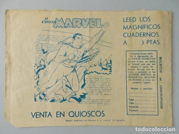 Tebeos: COMIC - SUGAR , AGENTE SECRETO - Nº 44 , SE DESINTEGRA EL K.K.K. - AÑO 1959 - ORIGINAL .. L391 - Foto 5 - 178330275