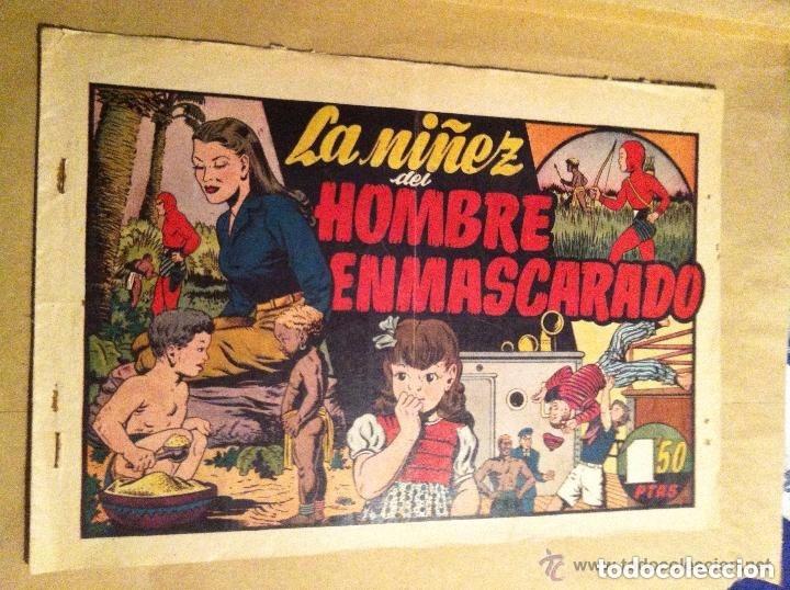 HOMBRE ENMASCARADO -LA NIÑEZ DEL H. ENMASCARADO- (Tebeos y Comics - Hispano Americana - Hombre Enmascarado)