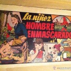 Tebeos: HOMBRE ENMASCARADO -LA NIÑEZ DEL H. ENMASCARADO-. Lote 178443437
