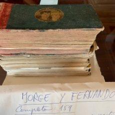 Tebeos: LOTE JORGE Y FERNANDO - 70 EJEMPLARES. Lote 178566053