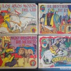 Tebeos: LOTE DE 4 COMICS TIEMPOS HEROICOS 42-44-47-48 HISPANO AMERICANA ,VER FOTOS. Lote 178682138