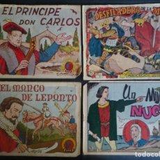 Tebeos: LOTE DE 4 COMICS TIEMPOS HEROICOS 22-23-25-28 HISPANO AMERICANA ,VER FOTOS. Lote 178682457