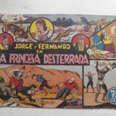 Tebeos: TEBEO DE JORGE Y FERNANDO. Lote 178772888