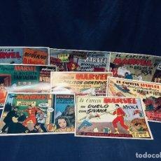 Tebeos: LOTE 8 COMICS CAPITAN MARVEL HISPANO AMERICA. Lote 178851341