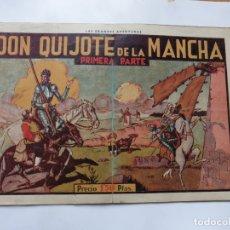 Tebeos: GRANDES AVENTURAS (H,AMERICANA) DON QUIJOTE DE LA MANCHA PARTE 1 Y PARTE 2 ORIGINAL. Lote 178857867