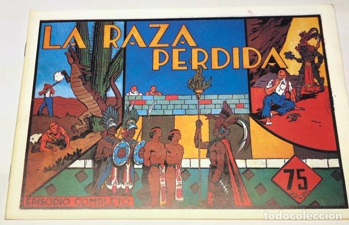 LA RAZA PERDIDA (Tebeos y Comics - Hispano Americana - Carlos el Intrépido)