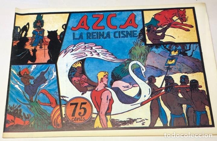 AZCA, LA REINA CISNE (Tebeos y Comics - Hispano Americana - Carlos el Intrépido)