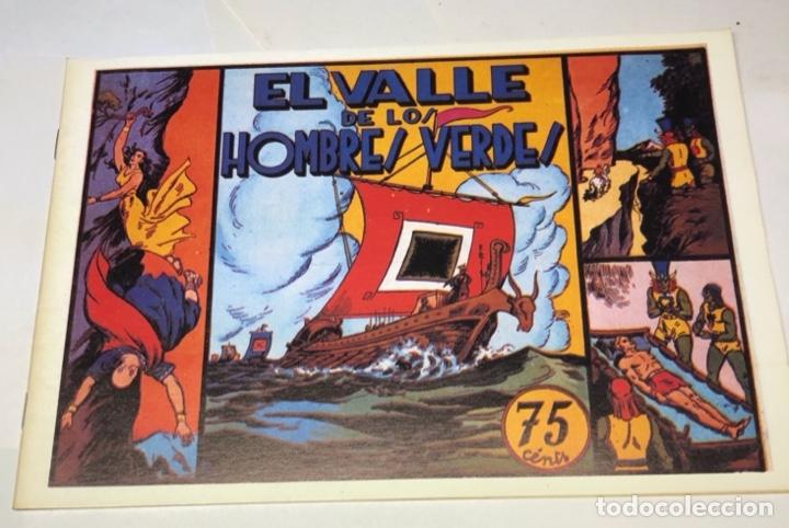 EL VALLE DE LOS HOMBRES VERDES (Tebeos y Comics - Hispano Americana - Carlos el Intrépido)
