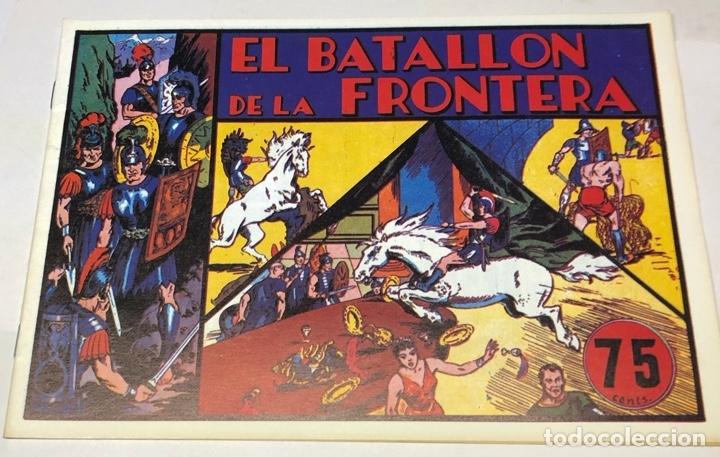 EL BATALLÓN DE LA FRONTERA (Tebeos y Comics - Hispano Americana - Carlos el Intrépido)