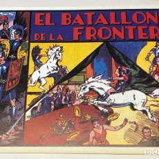 Tebeos: EL BATALLÓN DE LA FRONTERA. Lote 179166447