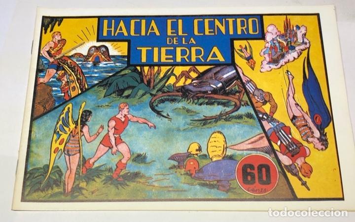 HACIA EL CENTRO DE LA TIERRA (Tebeos y Comics - Hispano Americana - Carlos el Intrépido)