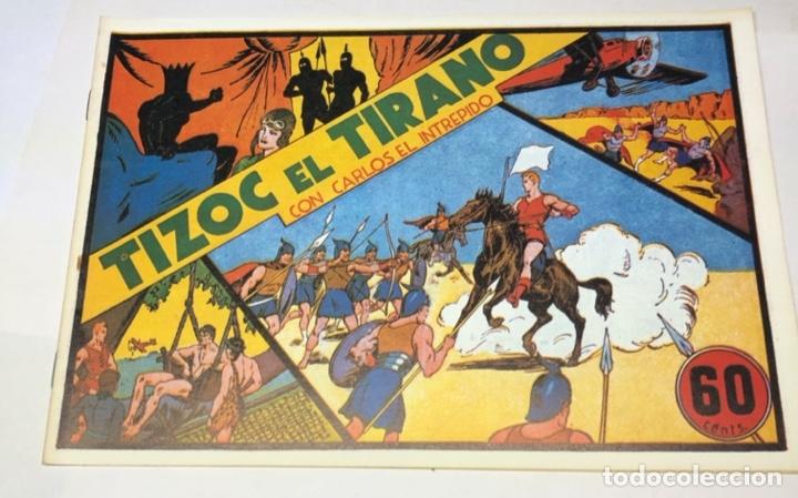 TIZOC EL TIRANO (Tebeos y Comics - Hispano Americana - Carlos el Intrépido)