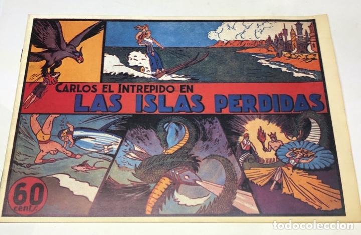 LAS ISLAS PERDIDAS (Tebeos y Comics - Hispano Americana - Carlos el Intrépido)