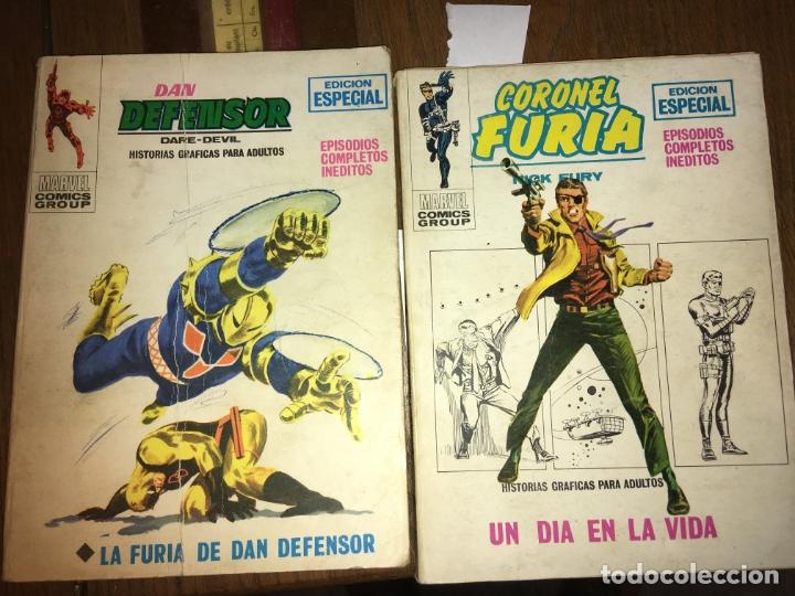 DAN DEFENSOR Y CORONEL FURIA, EDICIÓN ESPECIAL. CON SEÑALES DE USO (Tebeos y Comics - Hispano Americana - Capitán Marvel)