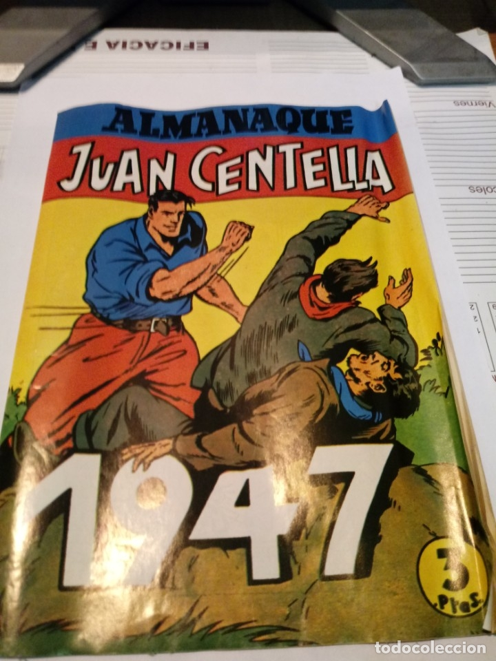 Tebeos: ALMANAQUE JORGE Y FERNANDO Y JUAN CENTELLA 1947 - Foto 2 - 179388357