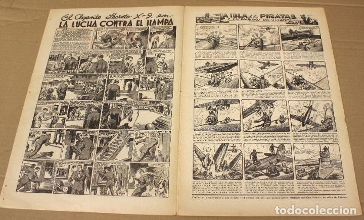 Tebeos: AVENTURERO. EL GRAN SEMANARIO DE LAS PORTENTOSAS AVENTURAS. Nº 85. ORIGINAL. 15 CTS. - Foto 2 - 179404987