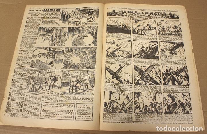 Tebeos: AVENTURERO. EL GRAN SEMANARIO DE LAS PORTENTOSAS AVENTURAS. Nº 88. ORIGINAL. 15 CTS. - Foto 2 - 179405605