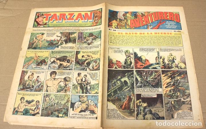 AVENTURERO. EL GRAN SEMANARIO DE LAS PORTENTOSAS AVENTURAS. Nº 88. ORIGINAL. 15 CTS. (Tebeos y Comics - Hispano Americana - Aventurero)